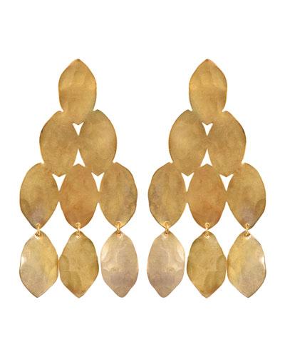 Kiketta Hammered Dangle Earrings