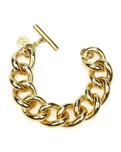Curb-Link Chain Bracelet