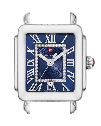 Deco Madison Mid Watch w/ Diamonds  Blue
