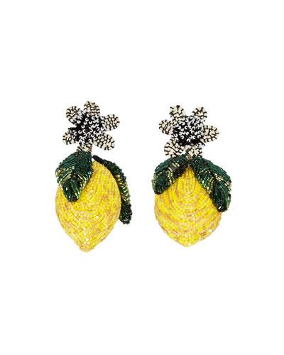 Lemon Lux Earrings