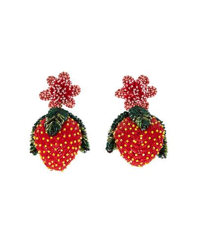 Lux Strawberry Earrings