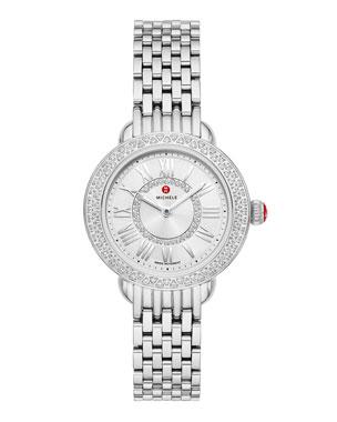 068067b14f8 MICHELE Serein Petite Diamond Watch w  12mm Bracelet