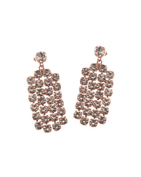 Rebekah Price Harper Crystal Drop Earrings