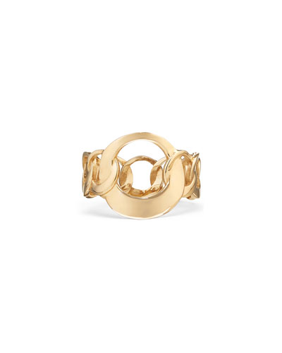 14k Large Bond-Link Ring  Size 6 & 7