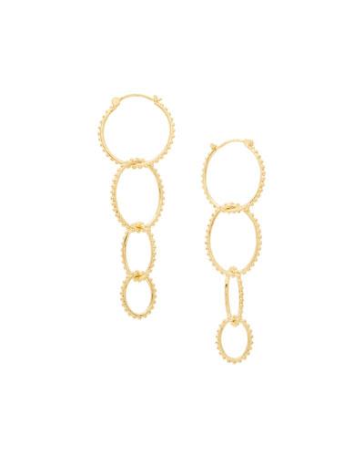 Bali Link Drop Earrings