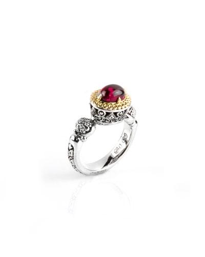Rhodolite Ring  Size 7 & 8