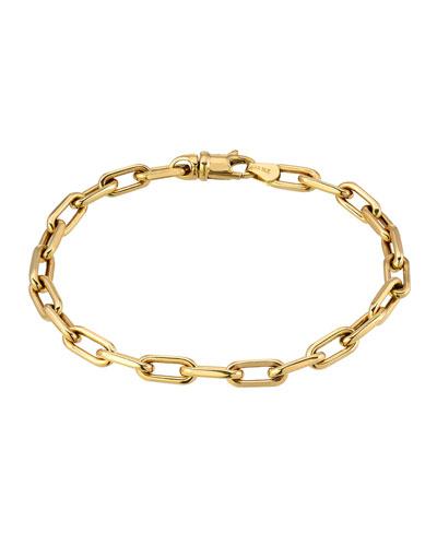 14k Large Open Link Bracelet