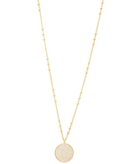 gorjana Pristine Coin Pendant Necklace