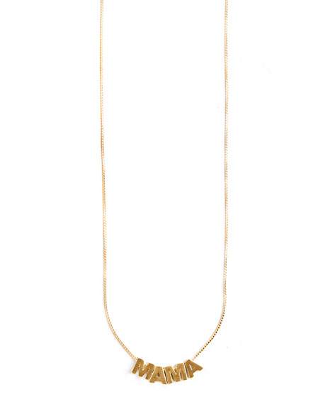 Alex and Ani MAMA Adjustable Necklace, Gold