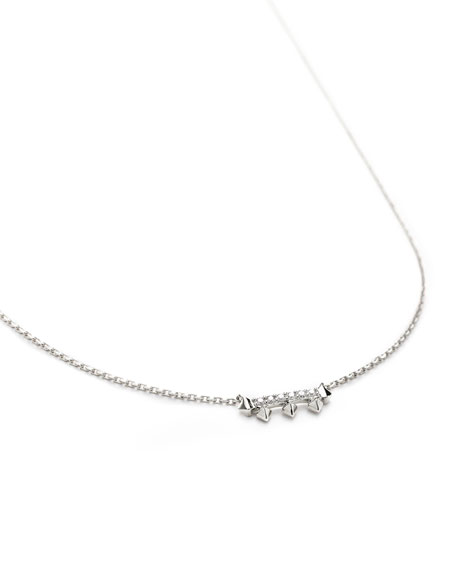 Kendra Scott Katy 14k Diamond-Bar Necklace