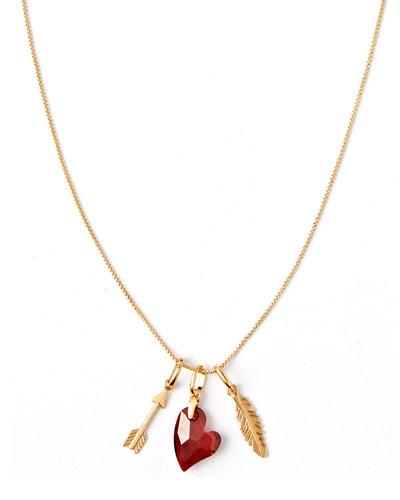 Triple-Charm Love Necklace
