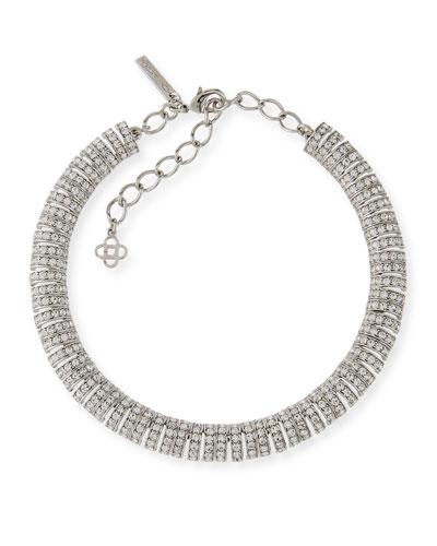 Caterpillar Crystal Necklace