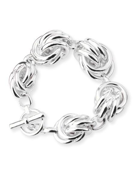 Jose & Maria Barrera Knot-Station Bracelet, Silver