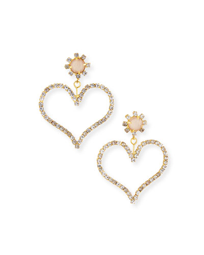 Penelope Heart-Drop Earrings