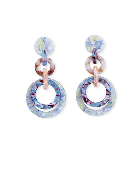 Lele Sadoughi Loop-de-Loop Earrings