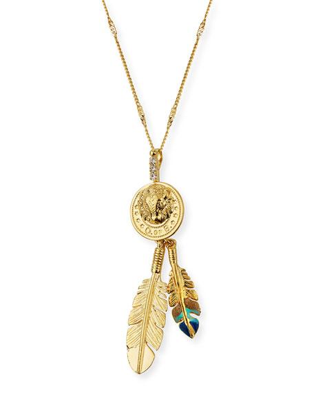 Gas Bijoux Buffalo Pendant Necklace