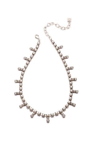 Dannijo Lovett Crystal & Pearly Necklace