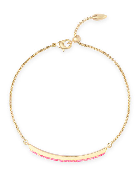 Kendra Scott Eloise Ann Bar Bracelet w/ Opal