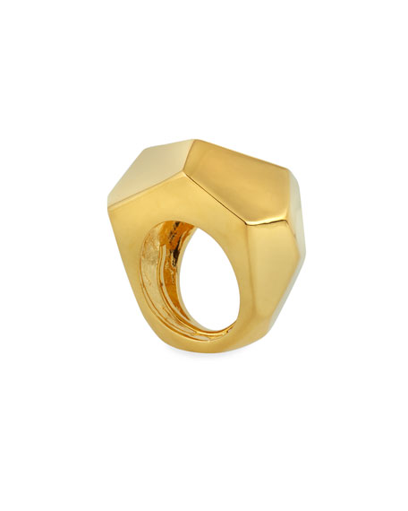 Kenneth Jay Lane Faceted Ring
