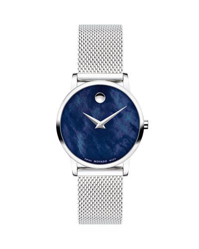 Museum Classic Bracelet Watch  Blue