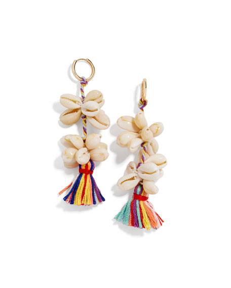 BaubleBar Nalani Tassel-Drop Earrings