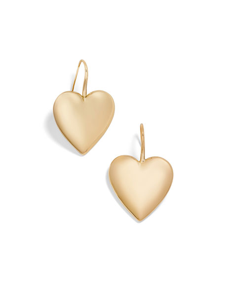 BaubleBar Viviane Heart-Drop Earrings