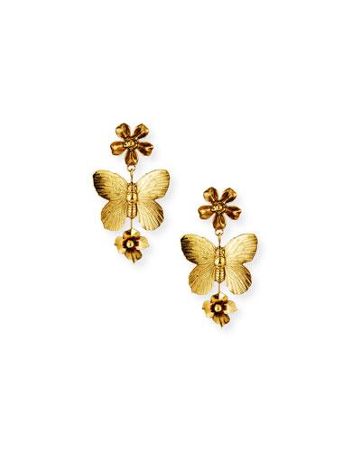 Fiora Butterfly Earrings