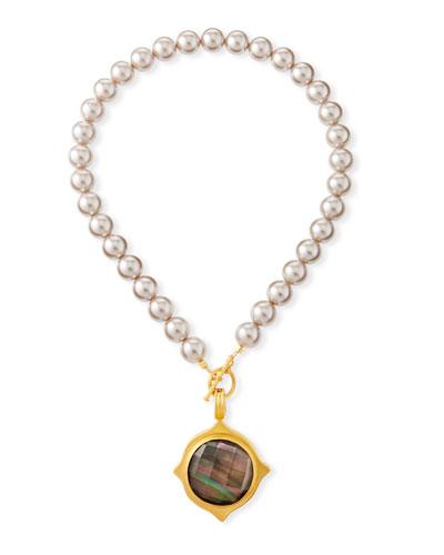 Pearl-Strand Pendant Necklace
