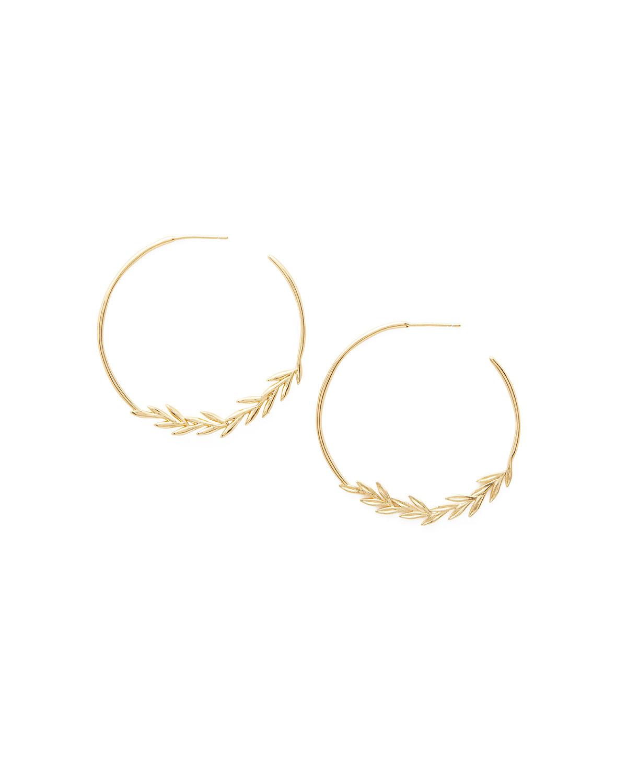 Willow Hoop Earrings by Gorjana