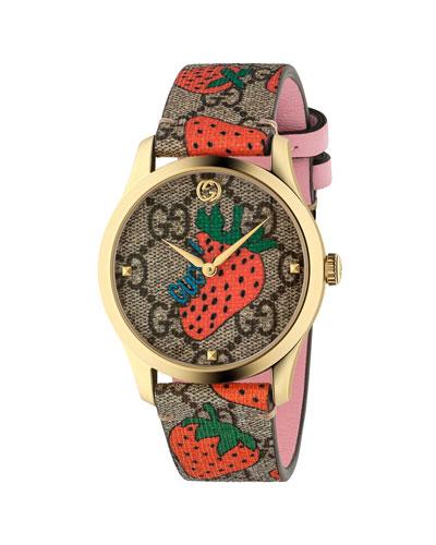 38mm G-Timeless Strawberry Watch