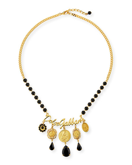Dolce & Gabbana Crazy for Sicily Charm Necklace