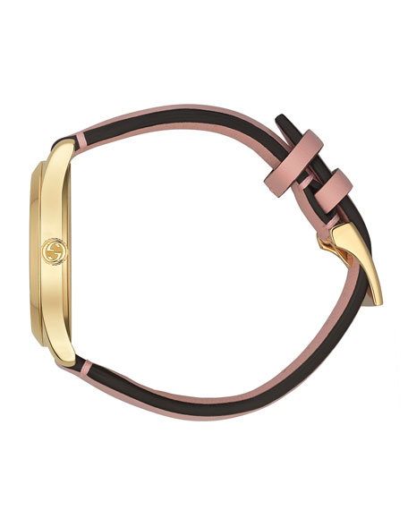 Gucci 38mm G-Timeless Mystic Cat Watch, Pink
