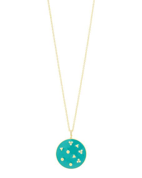 Freida Rothman Harmony Large Pendant Necklace