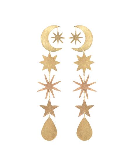 We Dream in Colour Hour-Long Celestial Earrings