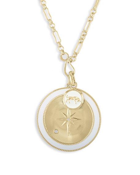 Lulu DK Taurus & White Northern Star Charm Set Necklace