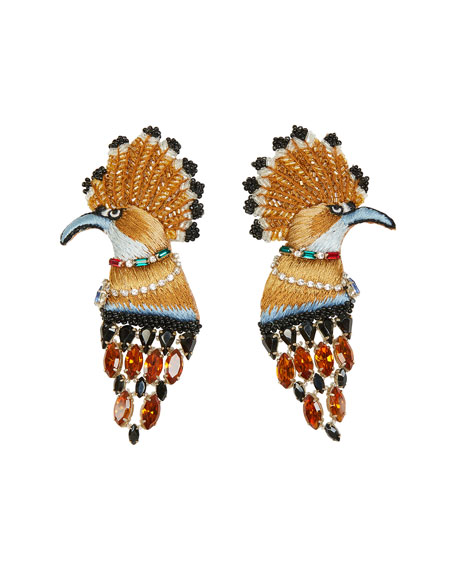 Mignonne Gavigan Palace Bird Earrings