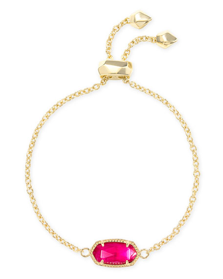 Kendra Scott Elaina 1-Station Bracelet in Pink
