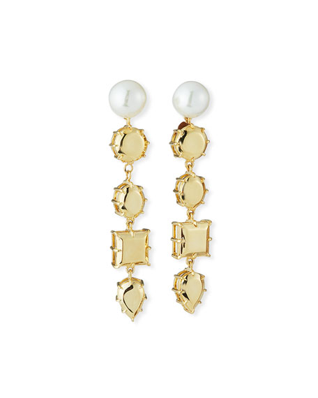 Fallon Accessories ROCK CLUB DANGLE EARRINGS