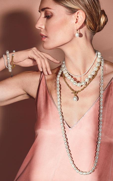Majorica 4mm Pearl-Strand Bracelet