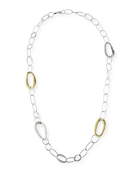 Ippolita Two-Tone Long Chain Necklace