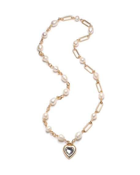 Dannijo Lupe Heart-Pendant Necklace
