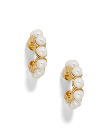 Baublebar Accessories CLASSIC PEARLY EAR CUFFS, SET OF 2
