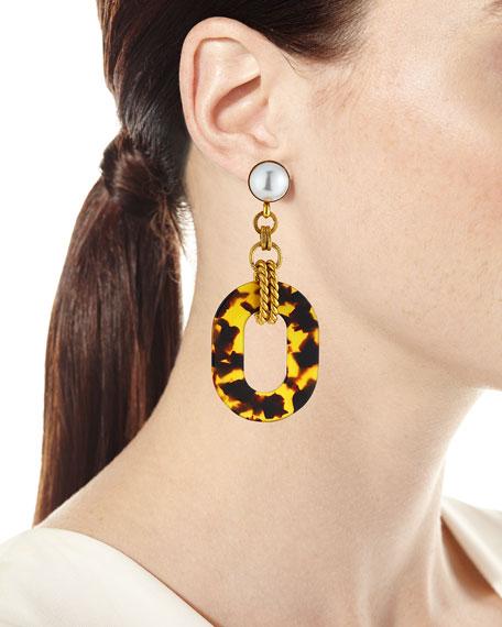 Elizabeth Cole Bennet Dangle Earrings