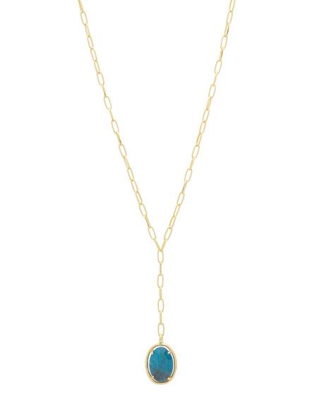 gorjana Riviera Stone Lariat Necklace