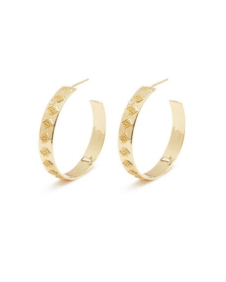gorjana Ana Hoop Earrings
