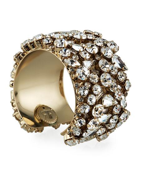 Rebekah Price Felicia Crystal Cuff Bracelet