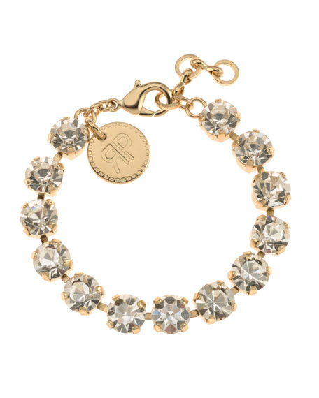 Rebekah Price Maxine Crystal Bracelet, Clear