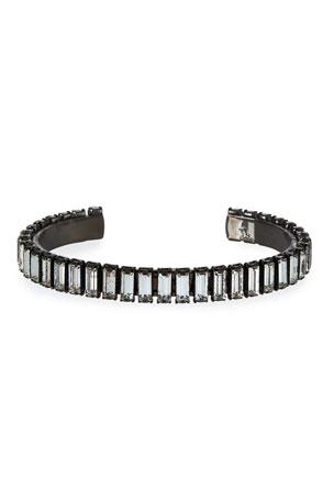 Elizabeth Cole Afton Crystal Cuff Bracelet