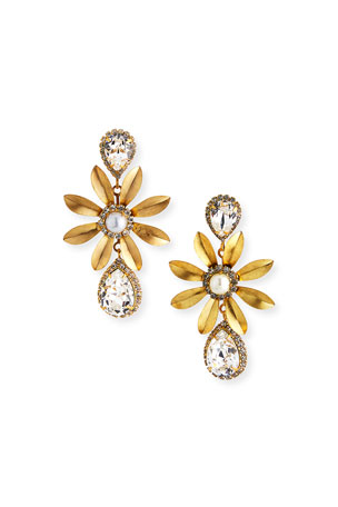 Elizabeth Cole Chrissy Drop Earrings