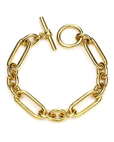 Oval Chain-Link Bracelet